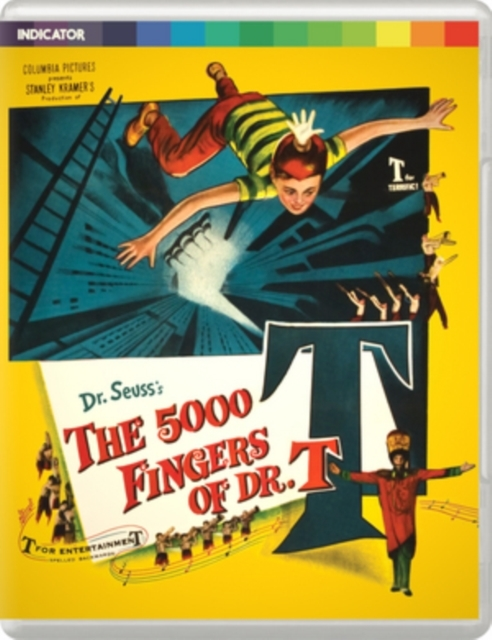 5000 Fingers Of Dr. T on DVD, Blu-ray