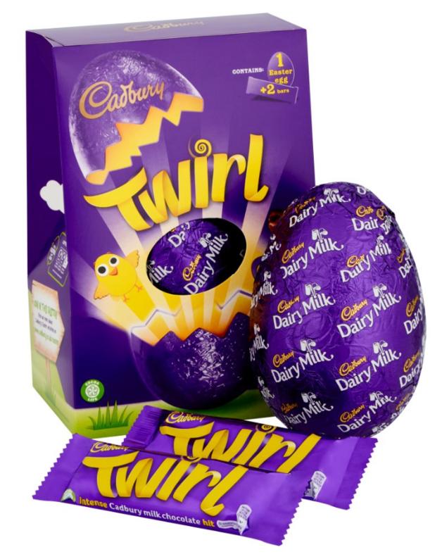 Cadbury: Twirl Large Egg - Easter Gift Set (262g)