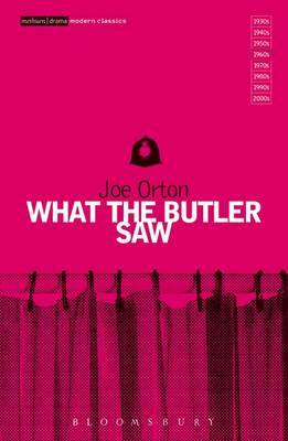"""What the Butler Saw"" by Joe Orton image"