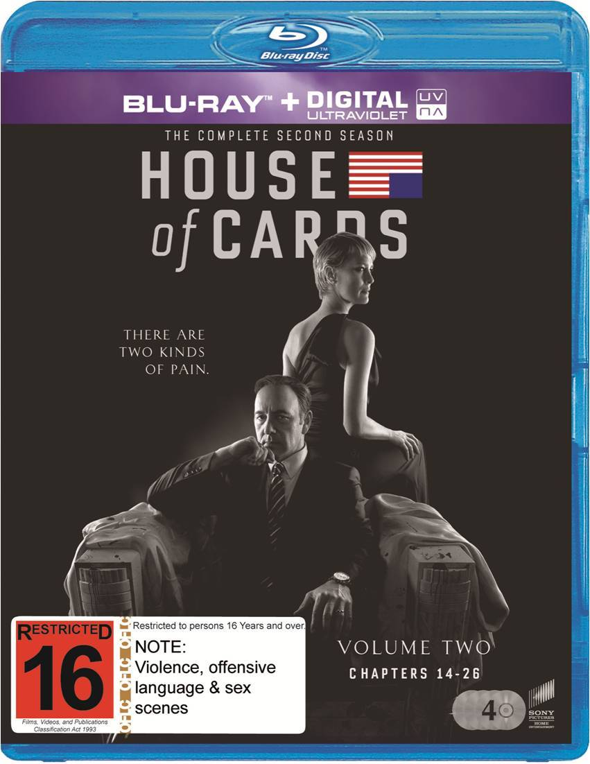 House of Cards - The Complete Second Season on Blu-ray image