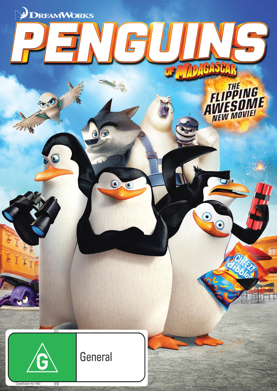 The Penguins Of Madagascar on DVD