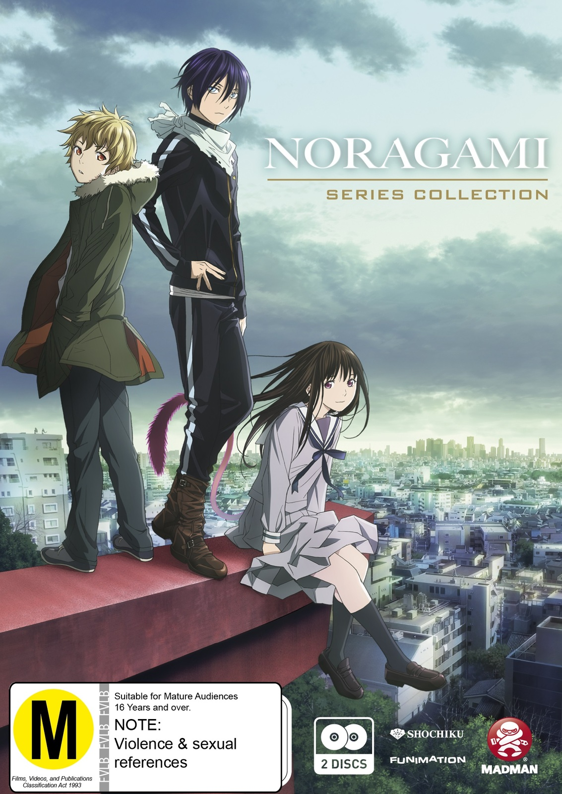 Noragami Series Collection on DVD image