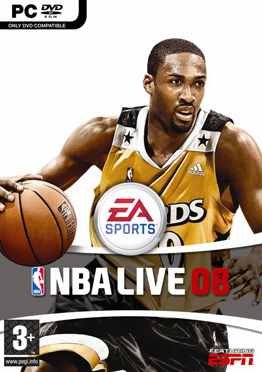 NBA Live 08 for PC Games image