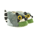 Woolie Slippers - Raccoon