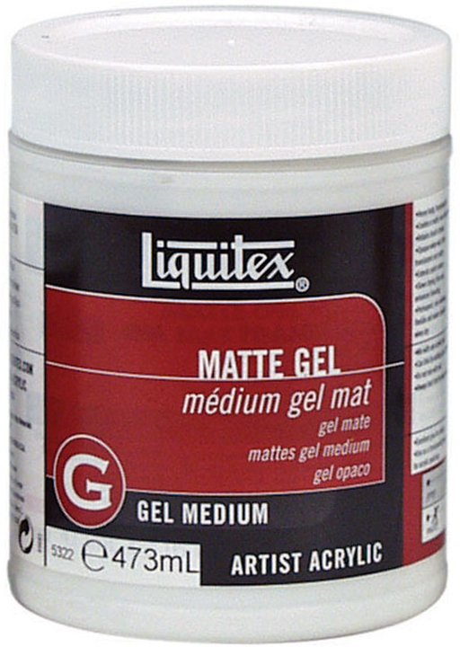 Liquitex: Matte Gel Medium (473ml)