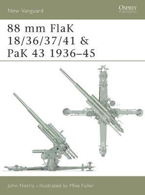 88 mm FlaK 18/36/37/41 and PaK 43 1936-45 by John Norris image
