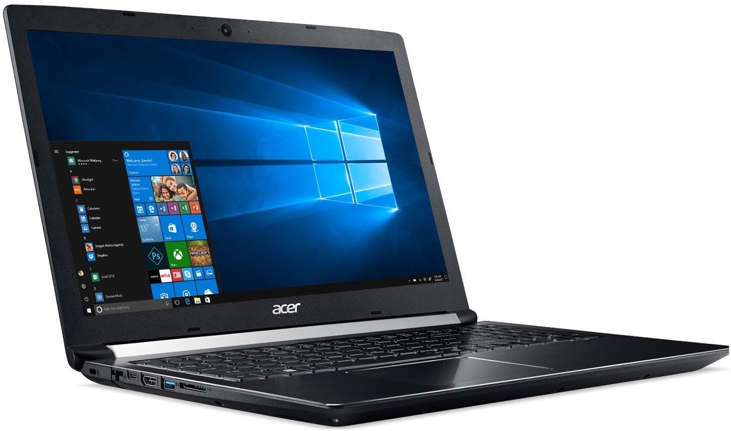 "Acer Aspire 7 17.3"" Entry Level Gaming Laptop | Intel Core i5 | NVIDIA GTX 1050 4GB | 8GB RAM + 256GB SSD | image"