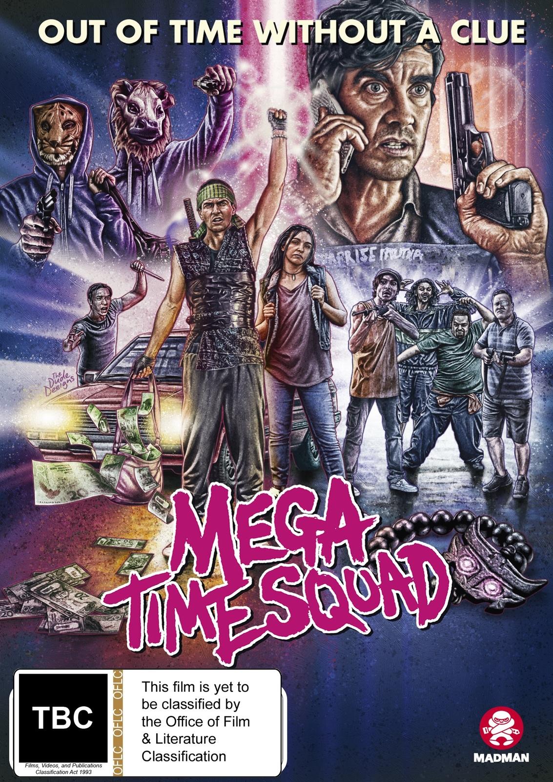 Mega Time Squad on DVD image