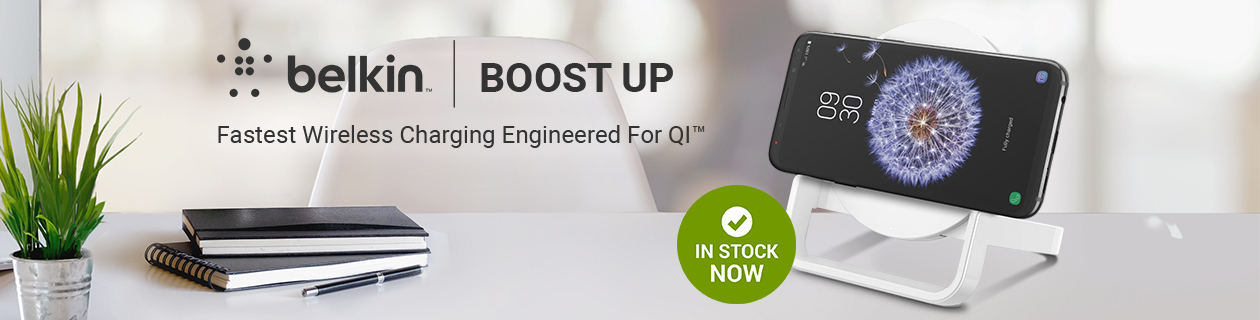 Belkin Boost Up Universal Wireless Charging Stands in stock NOW!