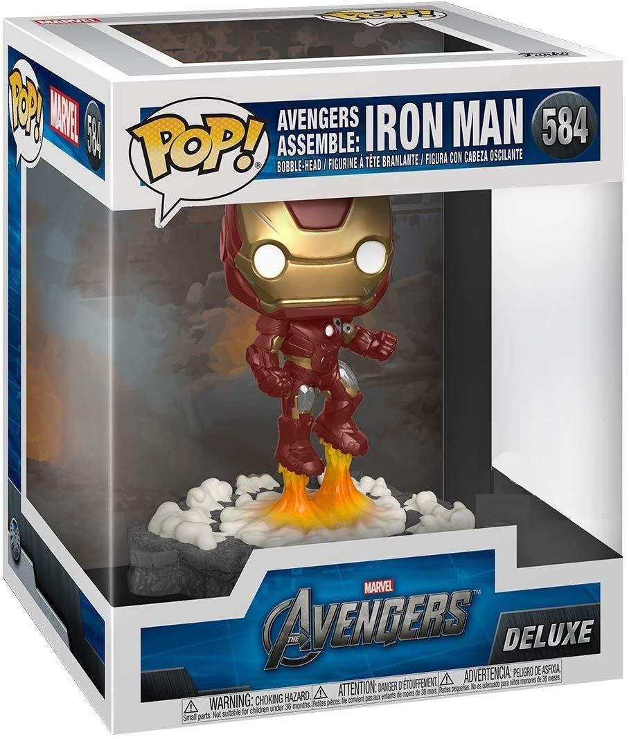 Marvel: Avengers Assemble - Iron Man Pop! Deluxe Figure image