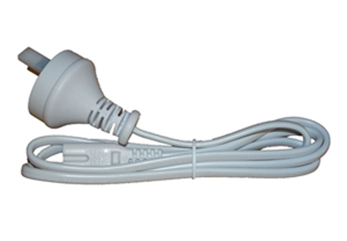 Verbatim 2 Pin Power Plug for T5 Integrated Battens - White image