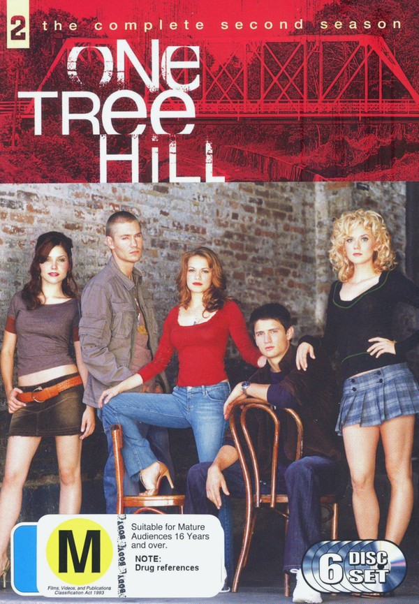 One Tree Hill - The Complete 2nd Season on DVD image