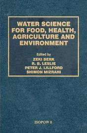 Water Science for Food Health by Zeki Berk image