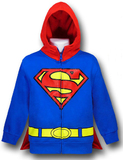 Superman Kids Red Hood Costume Hoodie (XL)