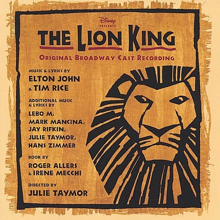 Original Broadway Cast Recording by The Lion King