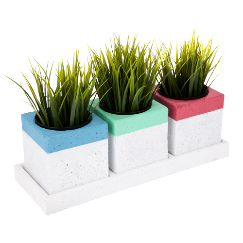 Herb Pots - Trio (Set Of 3) | at Mighty Ape NZ