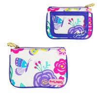 Pink Poppy: Secret Garden Coin Purse - Lilac