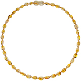 Bammeado Child Necklace Bean - Honey (37cm)