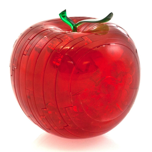 Crystal Puzzle: Red Apple