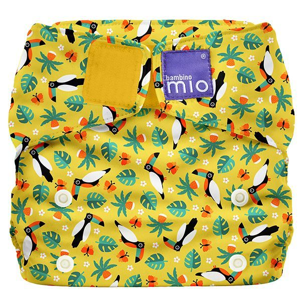 Bambino Mio: Miosolo All-In-One Nappy - Tropical Toucan image