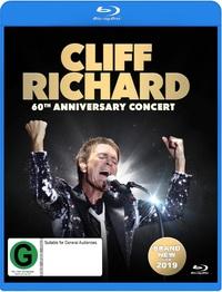 Cliff Richard: 60th Anniversary Concert on Blu-ray
