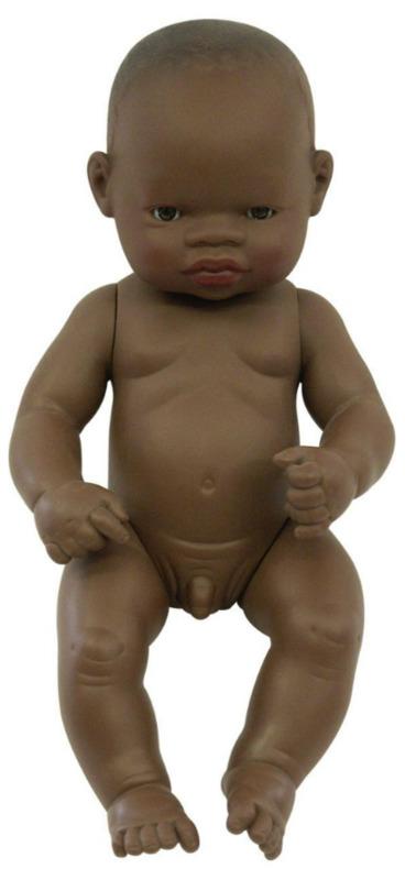 Miniland: Anatomically Correct Baby Doll - African Boy (32cm)