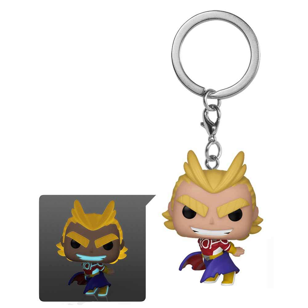 My Hero Academia - All Might Silver Age Glow Pocket Pop! Keychain image