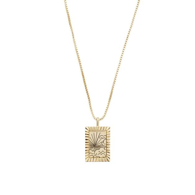 Wanderlust + Co: Dusk to Dawn Gold Necklace