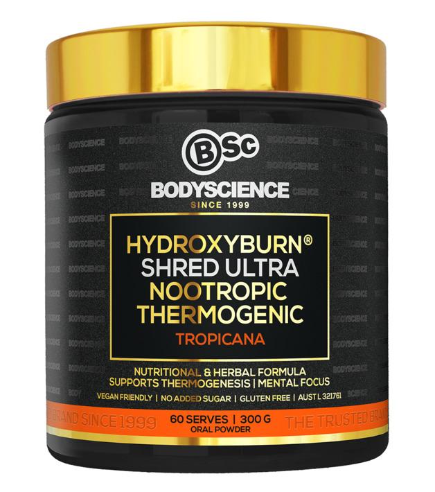 BSc Bodyscience HydroxyBurn SHRED Ultra – Tropicana