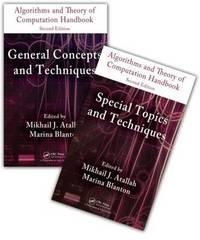 Algorithms and Theory of Computation Handbook - 2 Volume Set image