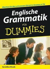 Englische Grammatik Fur Dummies by Geraldine Woods image