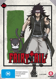 Fairy Tail Collection 22 - (Eps 253-265) on DVD