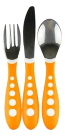 NUK: Big Kids Cutlery Set - Orange