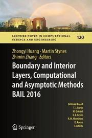 Boundary and Interior Layers, Computational and Asymptotic Methods BAIL 2016 image