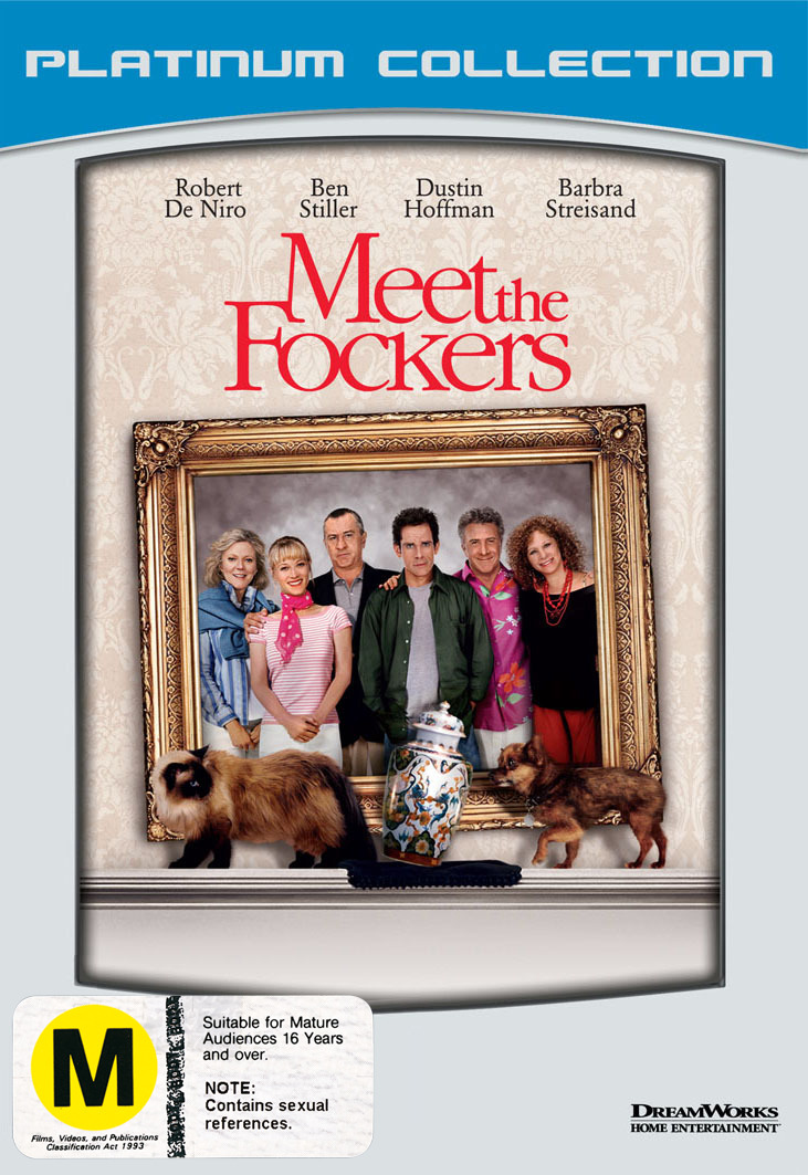 Meet The Fockers on DVD image