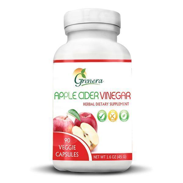 Grenera Apple Cider Vinegar Capsules (90 Caps) image