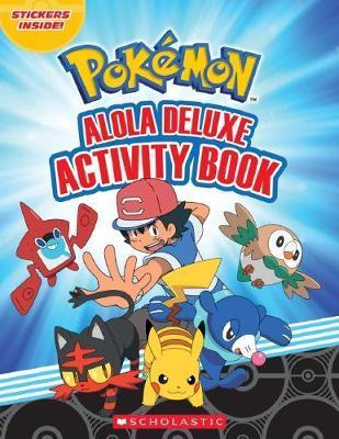 Pokemon: Alola Deluxe Activity Book by Scholastic image