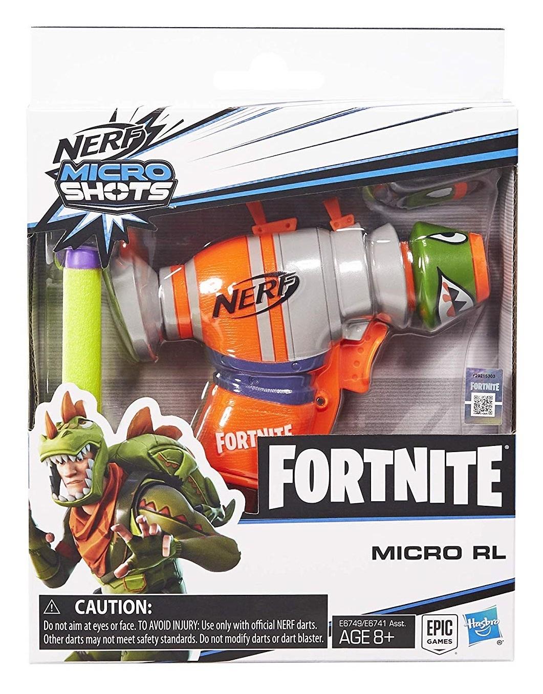 Nerf Fortnite: MicroShots Blaster - Micro RL image
