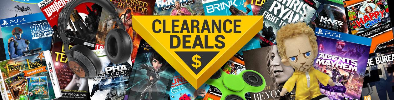 Clearance Deals