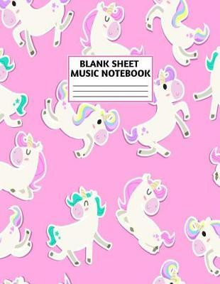 Blank Sheet Music Notebook by Madelyn Cisneros Music