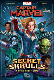 Captain Marvel: Secret Skrulls - Board Game