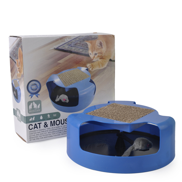 Motion Activated Mouse Toy for Cats