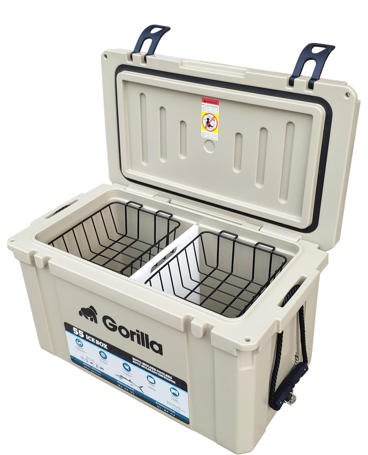 Gorilla: Heavy Duty Ice Box Chilly Bin 55L image