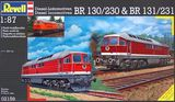 Revell - 1:87 Diesel Locomotives BR130/230 & BR131/231 Model Kit