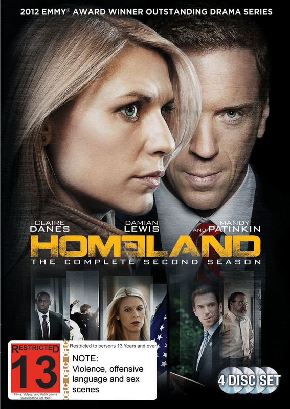 Homeland - The Complete Second Season on DVD