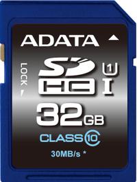 32GB ADATA Premier - SDHC Card (Class 10 UHS-I)