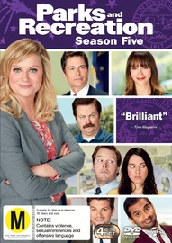 Parks and Recreation - Season 5 on DVD