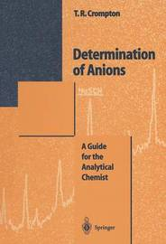 Determination of Anions by T.R. Crompton