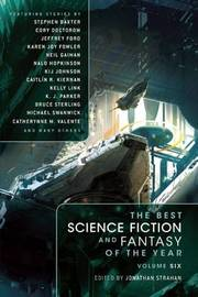 The Best Science Fiction and Fantasy of the Year: Volume 6 by Neil Gaiman