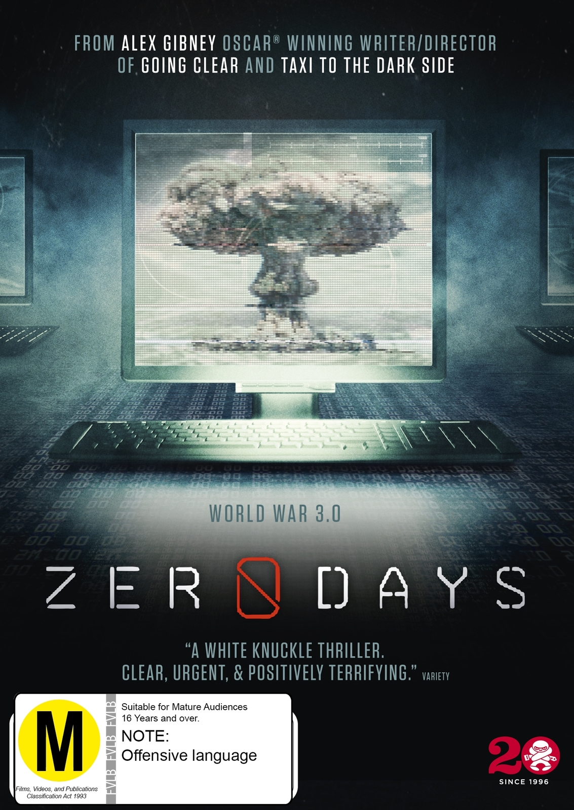 Zero Days on DVD image